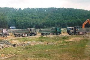 Đà Nẵng: Nghi vấn 'bảo kê' xe chở đất sét đi vào đường cấm