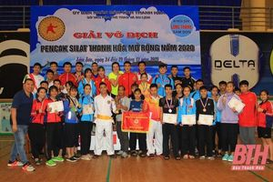 Bộ môn pencak silat Thanh Hóa sẵn sàng cho SEA Games 31