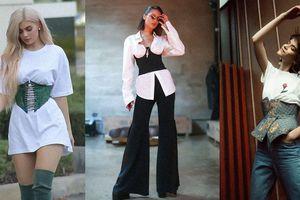 5 cách để phối áo corset đơn giản mà sành điệu