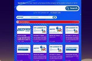 Lần đầu tiên Việt Nam đăng cai tổ chức Triển lãm điện tử Châu Á trực tuyến