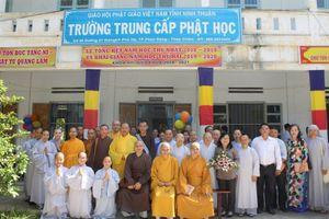 Ninh Thuận: Chiêu sinh Trung cấp Phật học khóa IX (2021-2024)