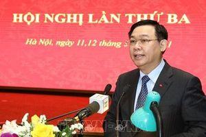 Thành ủy Hà Nội thông qua 10 chương trình công tác lớn