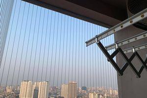 Lắp lưới chung cư: Đừng 'tưởng an toàn mà không an toàn'