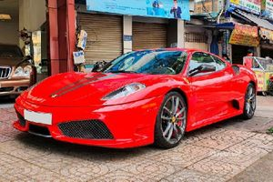 Siêu xe Ferrari F430 Scuderia ''hàng hiếm' lên sàn xe cũ Sài Gòn