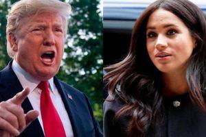 Ông Trump úp mở việc chạy đua tổng thống 2024 nếu vợ Hoàng tử Anh tham gia