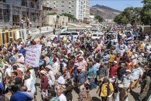 Người biểu tình tấn công Phủ Tổng thống Yemen, yêu cầu trả lương