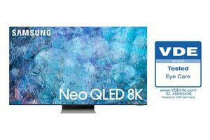 TV Neo QLED 2021 của Samsung được chứng nhận về khả năng 'Bảo vệ mắt'