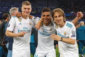 Đội hình hay nhất lịch sử Champions League vắng hàng tiền vệ Real