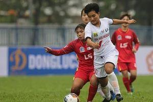 Kịch tính tại giải bóng đá nữ trẻ quốc gia