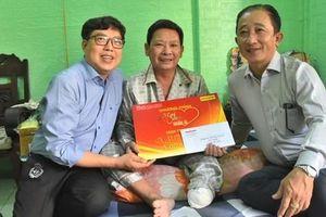 Chương trình 'Mai Vàng nhân ái' thăm NSƯT Linh Phước và nghệ sĩ Thái Thanh Hằng