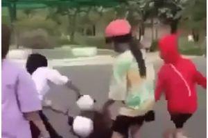 Đồng Tháp làm rõ nhóm nữ sinh lớp 8 đánh nhau