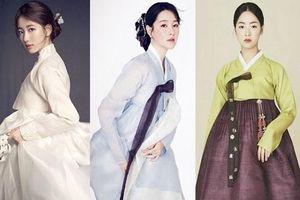 Loạt mỹ nhân Hàn đẹp như cổ tích trong trang phục truyền thống hanbok