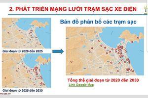 Đà Nẵng: Công bố loạt vị trí dự kiến lắp đặt hàng trăm trạm sạc ô tô điện