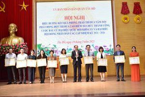 Phát động thi đua cao điểm tổ chức thành công bầu cử đại biểu Quốc hội khóa XV và đại biểu HĐND các cấp