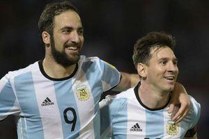 Higuain mời gọi Messi đến Mỹ