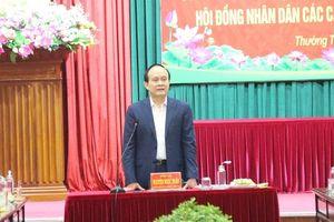 Phó Bí thư Thành ủy Nguyễn Ngọc Tuấn: Thường Tín tập trung xây dựng các điều kiện cơ sở hạ tầng để phát triển đô thị