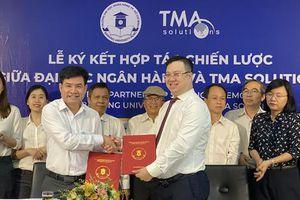 Trường ĐH Ngân hàng TP HCM hợp tác với TMA thúc đẩy chuyển đổi số