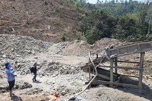 Gia Lai: Triệt phá 2 bãi khai thác vàng trái phép