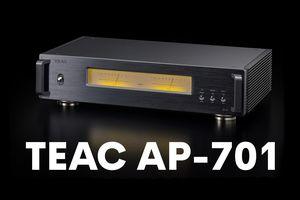 TEAC ra mắt poweramp AP-701 phiên bản mới, thiết kế dual mono, 170Wx2