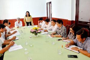 Họp Ban bầu cử HĐND tỉnh An Giang tại đơn vị bầu cử số 10 (An Phú)