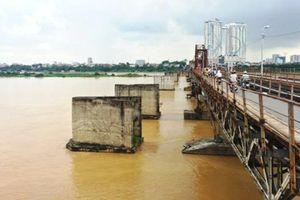 Đỉnh lũ trên sông Hồng dự kiến xuất hiện vào cuối tháng 7/2021