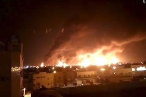 UAV tầm xa Houthi khiến nhà máy dầu Saudi ngừng hoạt động