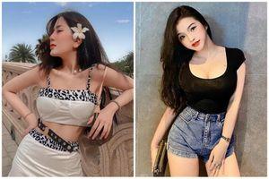 Hai hot girl Việt gây chú ý 'mặt học sinh, thể hình phụ huynh'