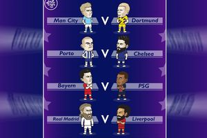 Ảnh chế: Bốc thăm tứ kết C1, những trận chung kết duyên nợ, Chelsea mơ vô địch lần thứ hai