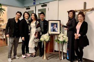 Chị 'Bé Heo' cùng Thúy Nga, Hoài Tâm dự thánh lễ tưởng nhớ 100 ngày mất của cố nghệ sĩ Chí Tài