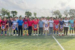 8 đội tranh tài tại Giải bóng đá Thanh niên TP. Bà Rịa