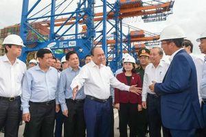 Tập trung phát triển cảng Cái Mép - Thị Vải ngang tầm khu vực vào năm 2030