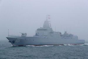 Trung Quốc bất ngờ điều tàu khu trục mạnh nhất tiến sát Nhật Bản