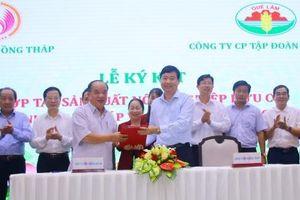 Tập đoàn Quế Lâm và Đồng Tháp ký hợp tác phát triển nông nghiệp hữu cơ
