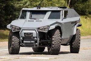 Xe quân sự Arquus Scarabee chạy điện chống đạn, có thể tàng hình