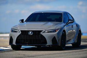 Ra mắt Lexus IS 500 F Sport Performance Launch Edition 2022