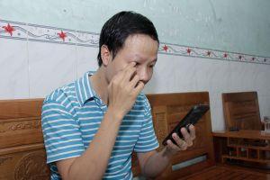 Nỗ lực của người bị mất 1 mắt sau tai nạn
