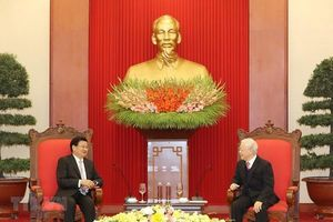 Việt Nam gửi điện mừng lãnh đạo nhà nước, chính phủ, quốc hội Lào