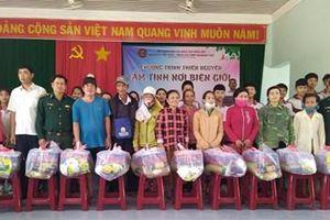 Thanh niên vùng biên Ea Súp tham gia các hoạt động dân vận