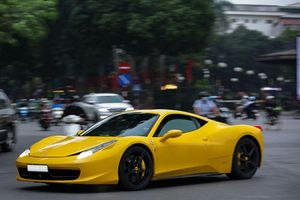 'Siêu ngựa' Ferrari 458 Italia hàng hiếm tái xuất tại Hà thành