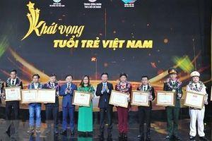 Trung ương Đoàn tuyên dương 10 gương mặt trẻ Việt Nam tiêu biểu năm 2020
