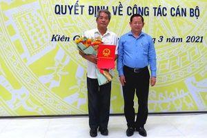 Kiên Giang bổ nhiệm Giám đốc Sở Tư pháp