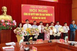 Điều động bổ nhiệm nhiều cán bộ, lãnh đạo ở Đắk Lắk