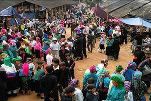 Lễ hội 'Chợ tình Khau Vai' đặc sắc tại Hà Giang