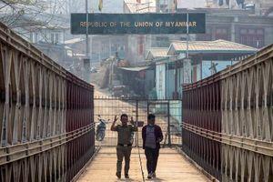 Cảnh sát Myanmar vượt biên xin Ấn Độ đừng trục xuất