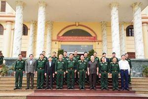 Tiểu đoàn 1 Long An - Quân khu 7 gặp mặt truyền thống