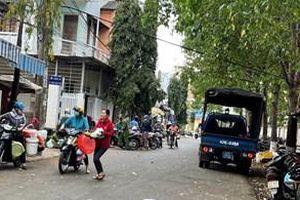 Lòng đường thành chợ ở TP Buôn Ma Thuột