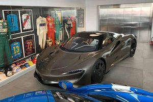 Siêu xe McLaren Speedtail phiên bản thời trang độc bản trên thế giới