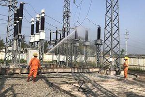 Tăng cường công tác vệ sinh bảo dưỡng thiết bị lưới điện 110kV