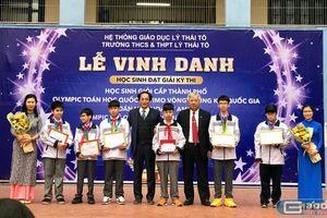 Học sinh trường Lý Thái Tổ xuất sắc giành nhiều giải thưởng trong nước, quốc tế