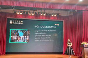 Tập đoàn Giáo dục Nguyễn Hoàng tổ chức thi Hoa khôi Sinh viên tài năng